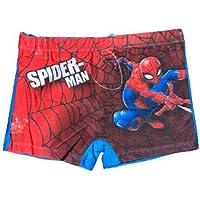 Calzoncillos de baño Spiderman para niños de 3 a 8 años