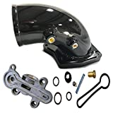 2005 f350 cold air intake - Fuel Pressure Regulator Kit Ford F-Super Duty 6.0 ALL 3C3Z-9T517-AG 3C3Z9T517AG with Black High Flow Intake Elbow for 2003 - 2007 F250 F350 F450 F550 Excursion