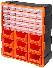 Tactix 320644 30-Drawers Storage Bin With 9 Tray