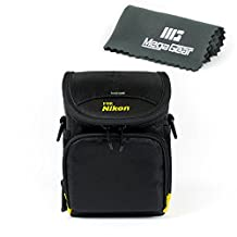 MegaGear ''Ultra Light'' Protective Black Camera RainProof Case, Bag for Nikon 1 S1, Nikon 1 J3, Nikon 1 J4, Nikon P7800, Nikon L820, L830