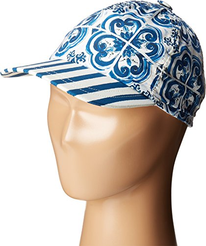 Dolce & Gabbana Kids Girl's Capri Baseball Cap (Little Kids/Big Kids) Blue MD by ScotchBlue