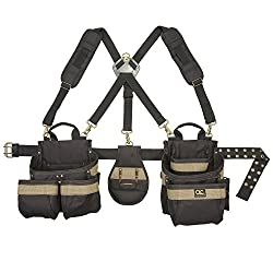 Custom LeatherCraft 1614 23 Pocket, Heavy Duty Framers 5-Piece Comfortlift Combo Tool Belt System Review