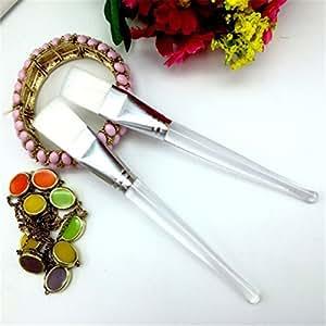 ULAKY Crystal Rod Mask Brush DIY Mask Essential Beauty Tools Long Transparent Rod 16CM