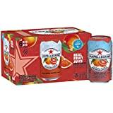 Sanpellegrino Blood Orange Sparkling Fruit Beverage, 11.15 fl oz. Cans (6 Count)