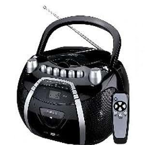 Nevir Nvr455Cmdu - Radio cassette (Cd Grabador), color negro