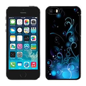 Blue Pattern Hard Plastic iPhone 5C Protective Phone Case