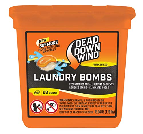 Dead Down Wind Laundry Pods 28 Count Hunting Scent Eliminators