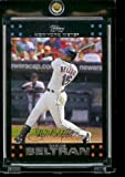 2007 Topps New York Mets LIMITED EDITION Team Edition Baseball Card # NYM20 Carlos Beltran - METS - MLB Trading Card