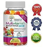 HEALTH NURTURE MULTIVITAMIN MAX- Best Gummy Vitamins for Men and Women- Contains Essential Minerals & Vitamins A, C, D, E, B-6, Vitamin B-12, Folic Acid, Biotin, Pantothenic Acid
