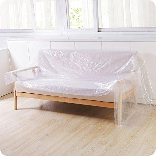 TraveT Multifunction Furniture Car Dust Cover, PE Bed Sofa Furniture Dust Cover Outdoor Waterproof Travel Picnic Mats (Description Sofa)