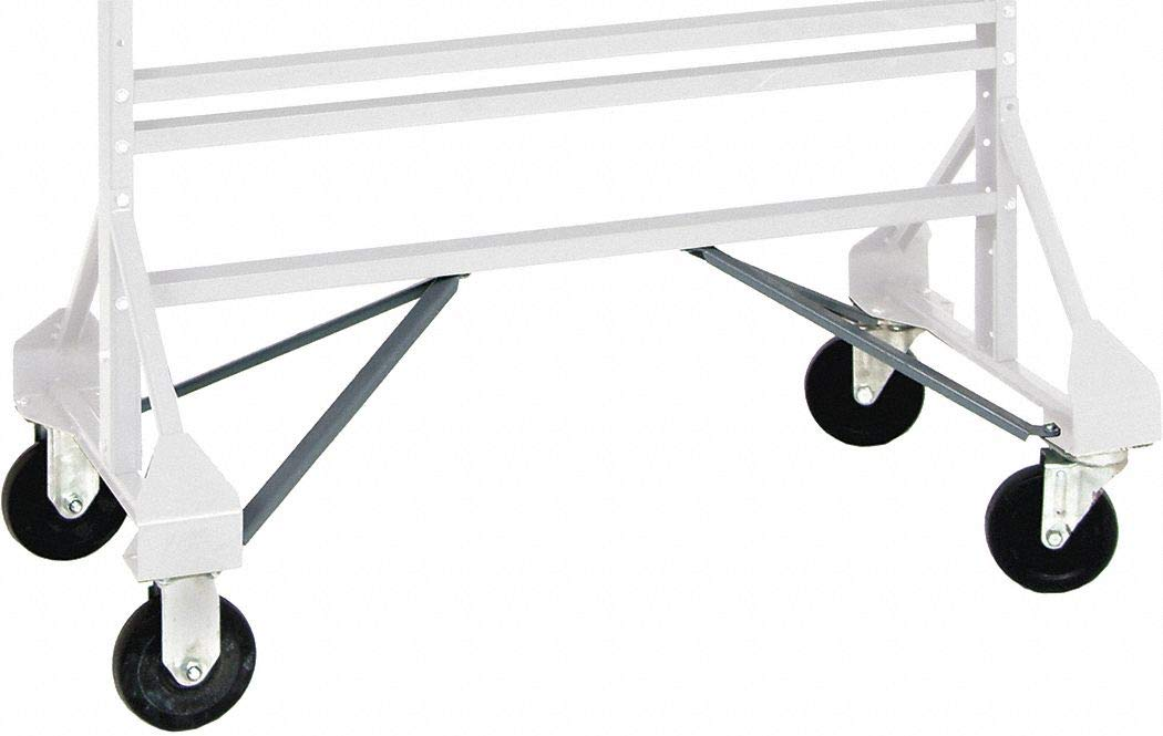 Steel/Rubber Mobile Kit, Gray; For Use With Mfr. No. QRU-12D and QRU-16D