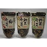 【通宝】【無添加】 納豆 /野菜/ うめ ふりかけ各1袋(合計3袋) メール便