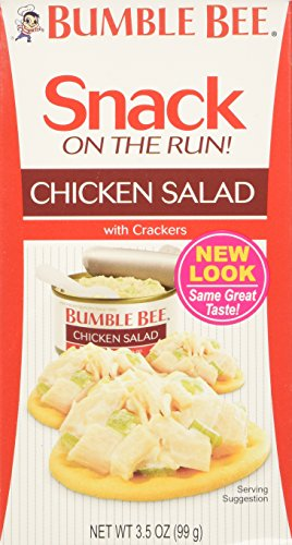 Bumble Bee, Chicken Salad with Crackers, 3.5oz (Pack of 6)