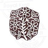 Tree Leaf Wooden Stamp for Block Printing