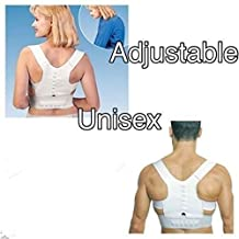 Healtheveryday® Chilrden Students Teenager Magnetic Posture Support Shoulder Corrector Body Back Pain Feel Young Belt Brace (XL)