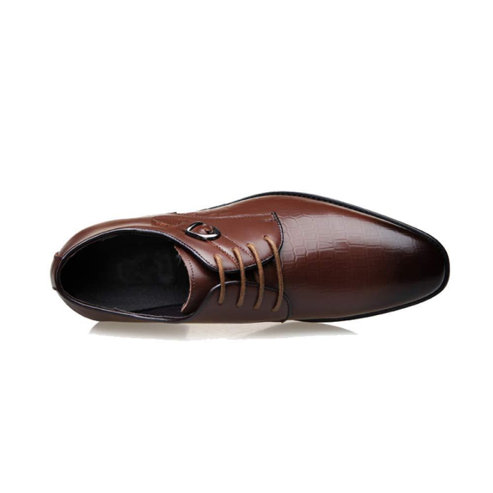 NIUMT Mode Herrenschuhe Mit Schnür-Turnschuhe, Business Atmungsaktive Schuhe B07JVL3M3N B07JVL3M3N B07JVL3M3N  412a26