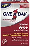 Cheap One A Day Proactive 65+ Multivitamins, 150 Count (4 Pack)