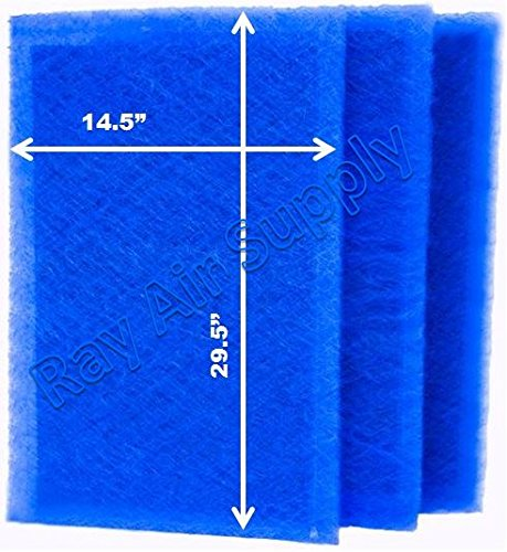 RAYAIR SUPPLY 16×32 ARS Rescue Rooter Air Cleaner Replacement Filter Pads 16×32 Refills (3 Pack)