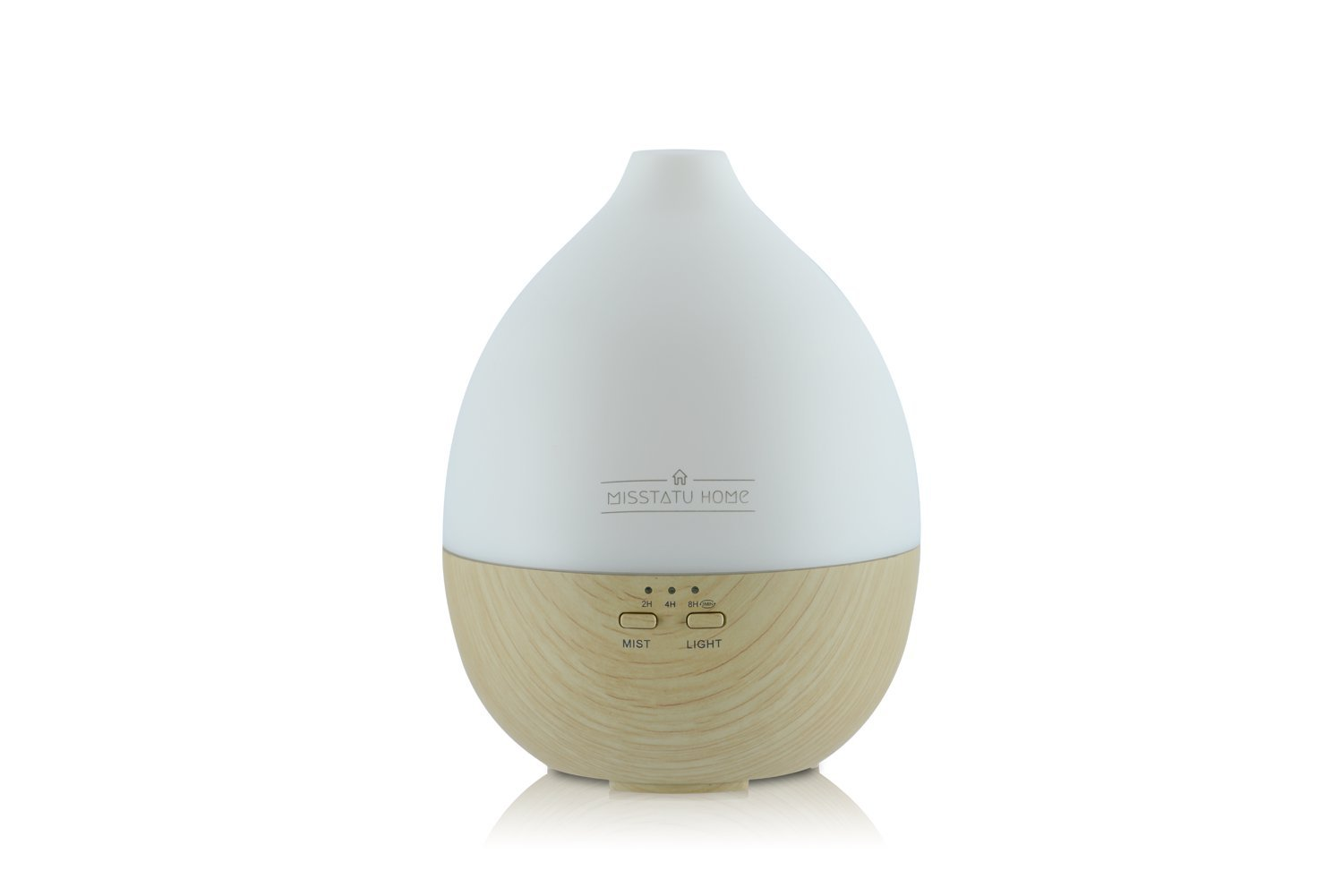 Aromatherapy diffuser and humidifier. Cool Mist Humidifier Ultrasonic Aroma Essential Oil Diffuser for home, spa, living room, bedroom. Adjustable Mist Modes, Waterless Auto Shut-off, Color LED Lights