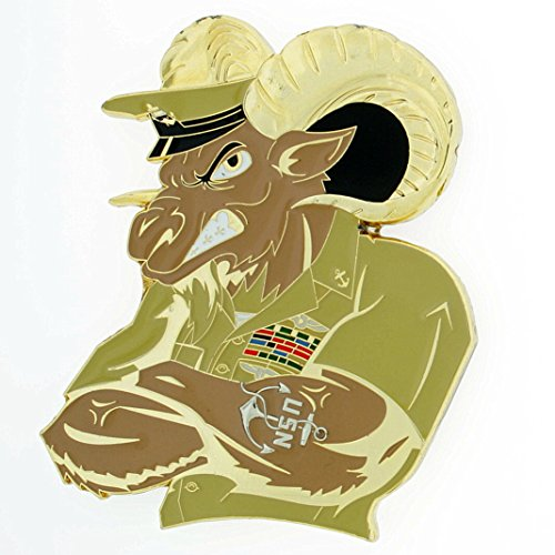 CPO Chief Goat Honor Courage Commitment US Navy Challenge Coin ()