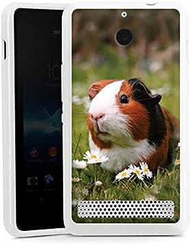 Sony Xperia E5 Slim Case Carcasa de silicona mar cerdo cobaya ...