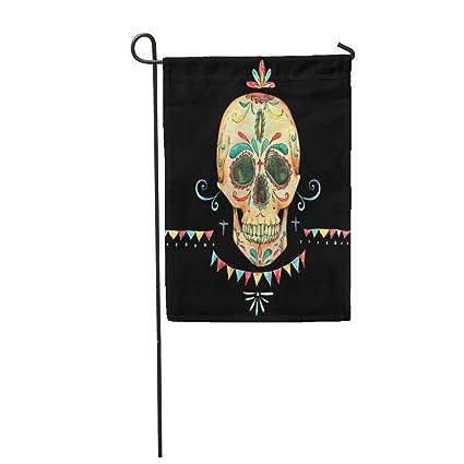 Amazon.com: Semtomn Bandera de jardín de 12.0 x 18.0 in ...