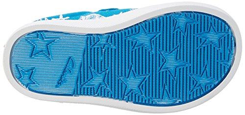 Clarks Halcy High Fst, Botines de Senderismo para Bebés Azul (Blue Canvas)