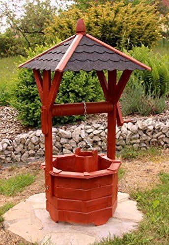 Fuente madera, Fuente ornamental, Fuentes de jardín tratados de Klein hasta Maxi - Klein: Amazon.es: Jardín