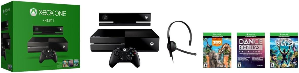 Amazon com: Xbox One 500GB Console with Kinect Bundle