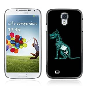 Designer Depo Hard Protection Case for Samsung Galaxy S4 / X-Ray Dog Ate Homework by icecream design