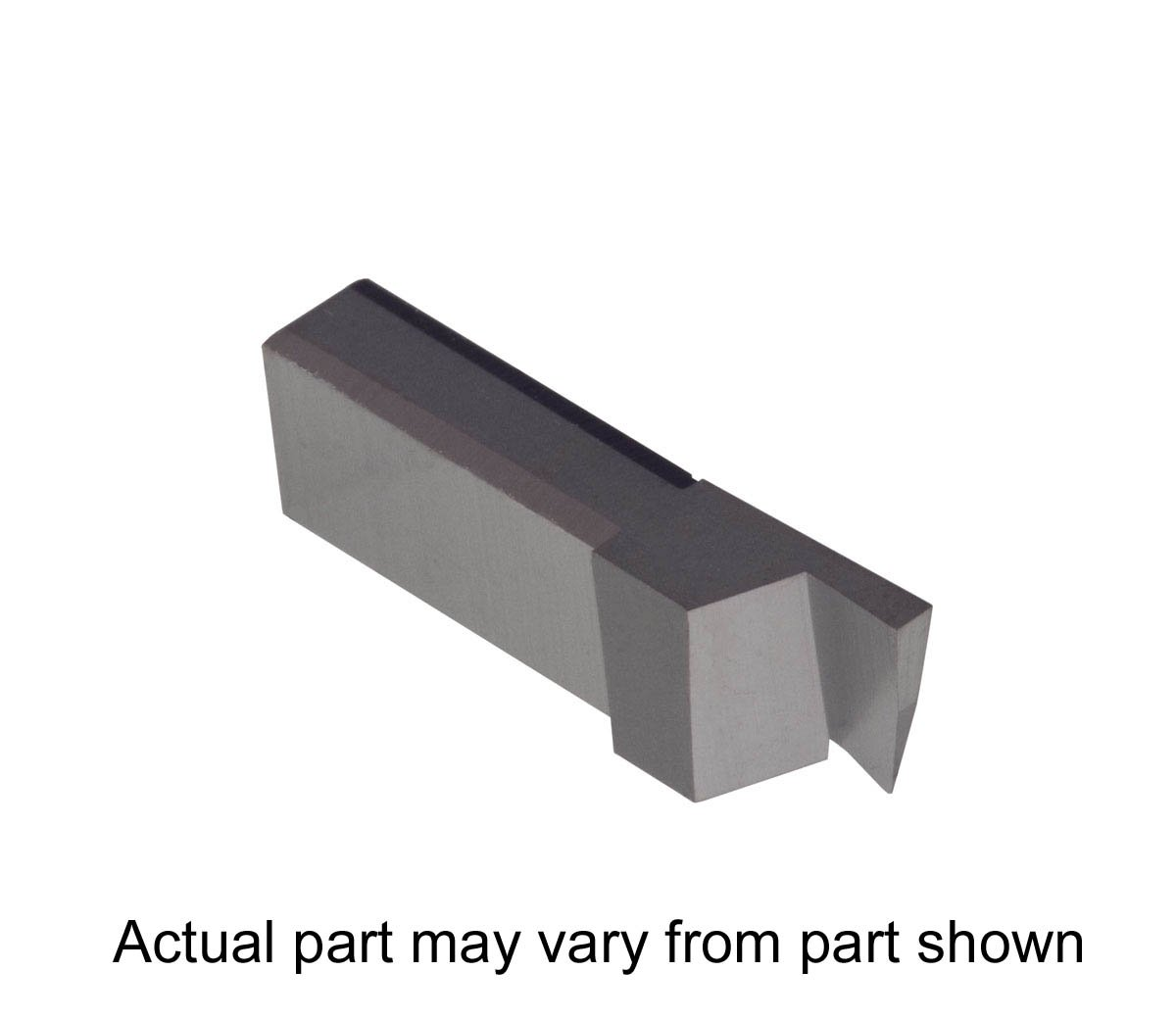Nickel Alloys and Stainless Steel with Interrupted Cuts Grooving Insert for Steel TiAlN Coated Carbide Titanium THINBIT 3 Pack LGT062D2RE 0.062 Width 0.155 Depth Sharp Corner