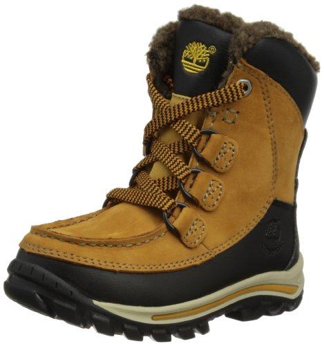 Timberland Chillberg FTK_Rime Ridge HP WP Boot 3570R - Botas de cuero para niño marrón (Wheat Nubuck)