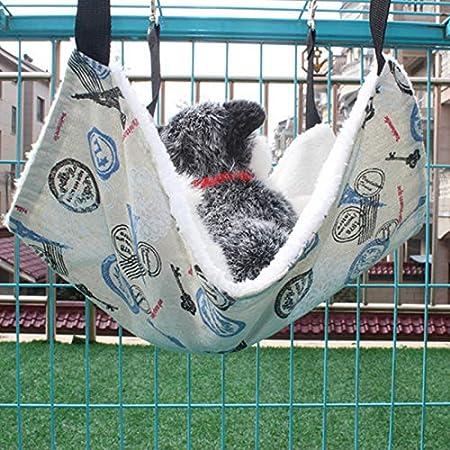algod/ón 1 Pieza Material m/ás peque/ño 27 MonbedosNido de Mascotas Coj/ín del Gato del Perro Blanco CamaHamaca suaveTama/ño 27 cm algod/ón