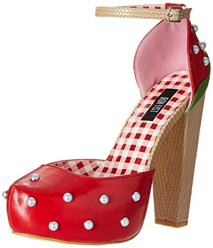 Iron Fist Women's Strawberry Lips Platform Dress Pump - R...