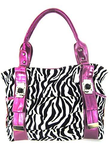 Pretty Bright Colored Zebra Shoulder product image