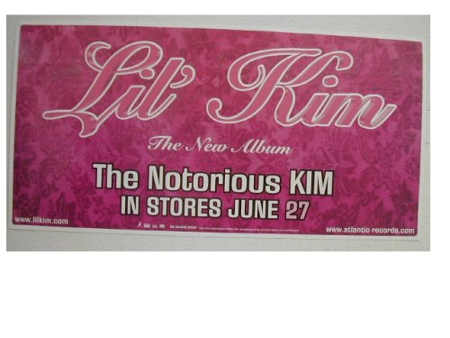 Lil' Kim Poster The Notorious Kim Pink