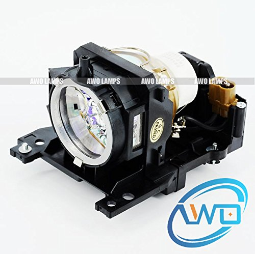 Awo-LampsDT00911 Replacement Bulb/Lamp with Housing for HITACHI CP-WX400 CP-WX410 CP-X201 CP-X206 CP-X301 CP-X306 CP-X401 CP-X450 CP-X467 CP-ED-X31 CP-X33 Projectors 150 Day Warranty (by AWO)