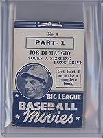 Joe DiMaggio (Baseball Card) 1938 Goudey Big League Baseball Movies - [Base] - Blue #4