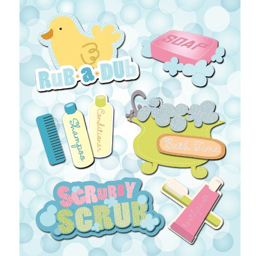 Bath Time Stickers (K&Company Bath Time Sticker Medley)