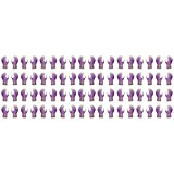 Atlas Fit 370 Showa Nitrile Purple Extra-Small Garden Work Gloves, 36-Pairs