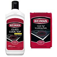 Weiman Glass Cooktop Cleaner - with pads