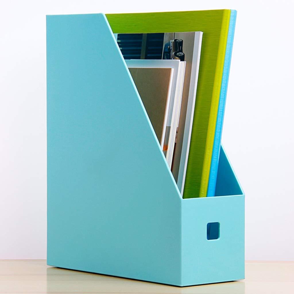 Einzeldatei-Box Dateihalter Dateikasten Datenrahmen Dateikorb Desktop Büro Verwenden Creative PP-Material Durchscheinend (Farbe    3) B07MV6SVKS   Deutschland Outlet