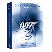 James Bond Blu-ray Collection: Volume One (Dr. No / Die Another Day / Live and Let Die) [Blu-ray] (2008)