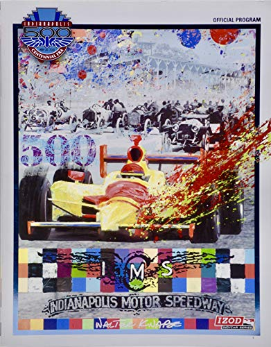 2010 - Indianapolis 500 Official Program - IndyCar Series - Centennial Era - Indianapolis Motor Speedway - Collectible - Rare