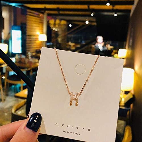 [スポンサー プロダクト]KAQI 女性のネックレス ネックレス ファッション女性のローズゴールド鎖骨ネックレス