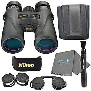 Nikon Monarch 5 8×42 Binoculars (7576), Black Bundle with a Nikon Lens Pen and Lumintrail Cleaning Cloth