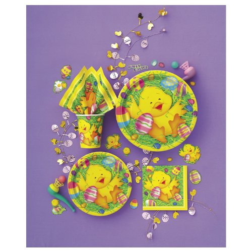 Easter Ducky Dessert Plates (8 count) Party Accessory - Ducky Dessert Plates