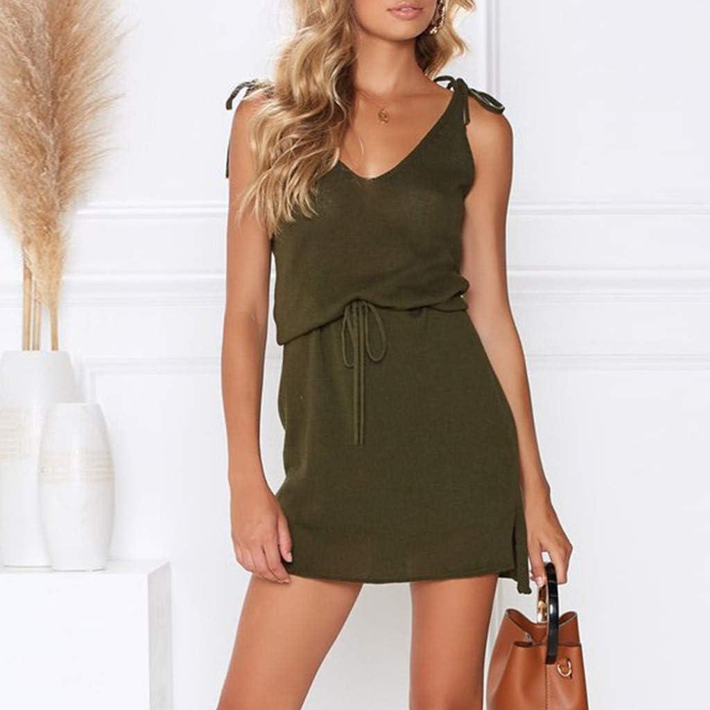 ARTFFEL Womens Casual Plain Pockets Loose Adjustable Strap Shorts Denim Overalls