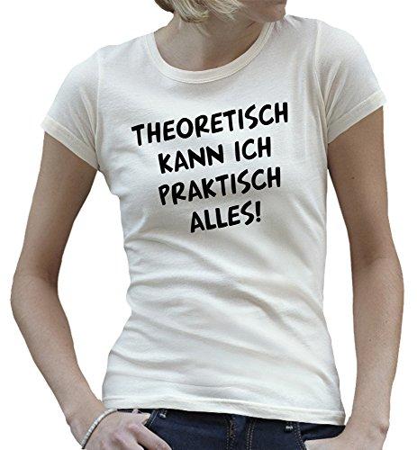 Touchlines - Camiseta - Manga Corta - para mujer blanco