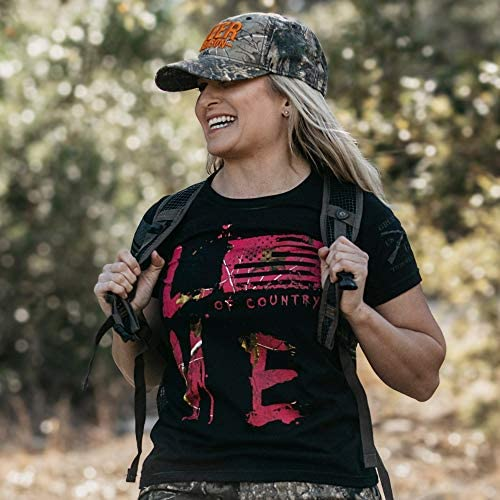 GRUNT STYLE REALTREE XTRA - LOVE OF COUNTRY -WOMEN'S T-SHIRT